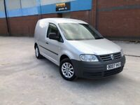 Volkswagen caddy 1.9 tdi c20 small vw van silver