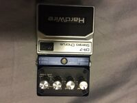 DIGITECH HARDWIRE CR-7 STEREO CHORUS EFFECTS PEDAL