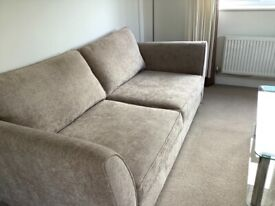 Two x 3 seater sofas in great condition