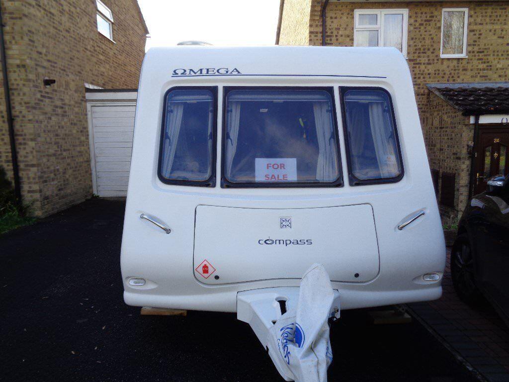 Compass Omega 482, 2 Berth Caravan 2009 Model