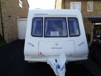 Compass Omega 482, 2 Berth Caravan 2009 Model