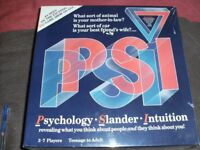 PSI PARTY GAME (New & Boxed)