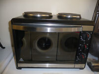 Russell Hobbs Mini Cooker Fan Assisted Oven - Mini Kitchen - Glamping?
