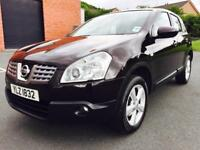 OCTOBER 2009 NISSAN QASHQAI ACENTA 1.5 DCI ONLY 75K FULL SERVICE HISTORY JUST PASSED THE MOT