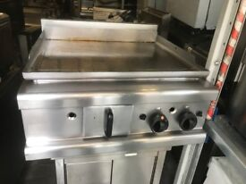 GAS FLAT GRILL CATERING COMMERCIAL KITCHEN EQUIPMENT FAST FOOD RESTAURANT TAKE AWAY CAFE CHICKEN