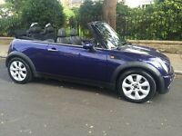 2005 MINI COOPER CONVERTIBLE LEATHER TRIM POWER ROOF RECENTLY SERVICED CABRIOLET MINI COOPER ONE S