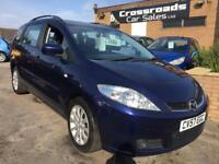 Mazda 5 tS 1.8 Petrol 7 Seater **30 DAY ENGONE AND GEARBOX WARRANTY INCLUDED**