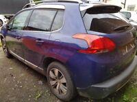 Peugeot 2008 allure e-hdi 2014 unrecorded spares or repairs £1750 cash