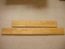 Junckers Solid Oak Strip Parquet Flooring