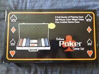 Duluxe Poker Set Brand New Never Used