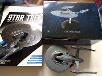 STAR TREK EAGLEMOSS USS VENGEANCE SPECIAL ISSUE DIE CAST MODEL WITH MAGAZINE AS NEW