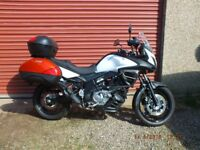 Suzuki Vstrom 650 A3 63 Plate, ABS Model, Data Tagged, One Owner.
