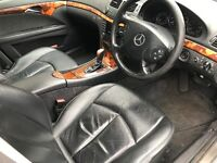 05 MERCEDES E220 LEATHER INTERIOR SEATS FULL SET WHIT DOOR CARDS TO WERY GOOD CONDITION