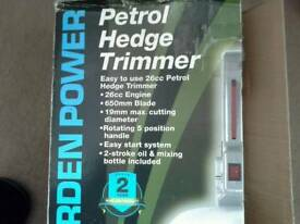 Petrol hedge trimmer (Spear & Jackson)