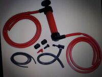 Transfer hand pump air pump(fuel/water diesel fluid)