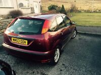 Ford Focus 1.6 auto 2004/53 very ow mileage! mot 2017 Feb! sale or swap