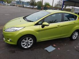 Ford Fiesta, 1.4 L Automatic Green. Urgent sales