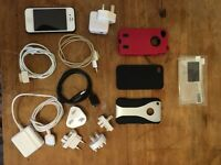 iPhone 4s, 32Gb, white, excellent condition, with accessories