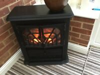 Cast iron electric stove