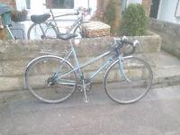 Classic Raleigh Ladies Road bike Racer - Ladies town bicycle