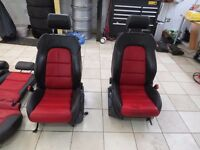 FULL LEATHER AUDI, MK 5 GOLF, SEAT LEON MK2 ETC