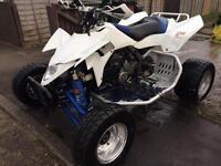 SUZUKI LTR 450 RACE QUAD BIKE ROAD LEGAL NOT LTZ YFZ RAPTOR £3200