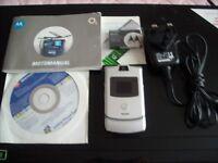 Mobile phone. Motorola Razr v3