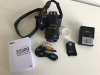 Nikon D3300 + AF-S Nikkor 18-55mm 3.5-5.6 VR Lens + Lens Hood + Hoya Pro1 Polarizing Filter