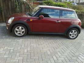 Mini Cooper 1.6D Satnav & Face lift Model. With remainder of comprehensive warantywise insurance