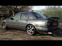 Ford sierra cosworth 4x4 rare flint gray mint overall in and out, not escort skyline Evo