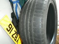 225 X 45 X 17 , EVENT EXTRA LOAD TYRE , TREAD LIKE NEW , AS PICTURES ,