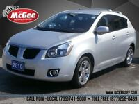 2010 Pontiac Vibe AWD - Pwr Locks/Windows, 17' Chrome Wheels