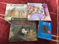 Kids books including Sofia the First