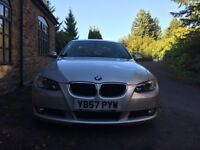 Modern Classic 2008 BMW 320 d SE Coupe. 30K miles. FSH (BMW). 3 year warranty and recovery BMW/RAC