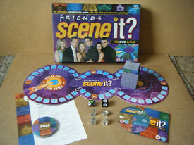 (Friends Scene it) DVD board game. Complete in excellent condition.
