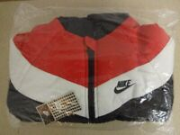 Kids Junior Nike Padded Jacket Hooded Bommer Puffa Age 7/8 7 8 Brand New Sealed With Tags