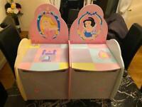 Toy Children's girls, toy box, play bench