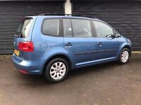 2014 VOLKSWAGEN TOURAN 1.6 TDI 105 S BLUEMOTION TECH 7 SEATER NOT ALHAMBRA S-MAX SHARAN GALAXY C4