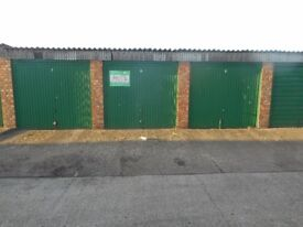 Cheap secure storage, lockup garage with 24/7 access to store a vehicle or general household items