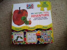Hungry caterpillar puzzle