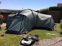 Vango colorado 800 dlx 4 man tent • Great condition, everything included