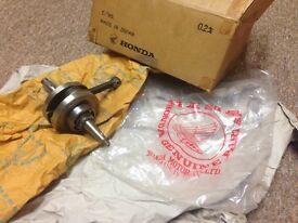 BRAND NEW crankshaft for Honda c50/c70/c101/c110 6 volt