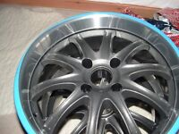 PEUGEOT OR FORD 4 STUD ALLOY WHEELS X 4 X 17INCH