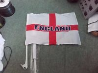 Box of 30 plus Car England Flags Twin packed.