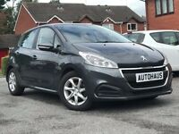 2016 Peugeot 208 1.6 BlueHDi Active 5dr FREE ROAD TAX + BLUETOOTH + CRUISE CONTROL