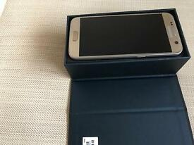 Samsung galaxy S7 Gold with proof of purchase