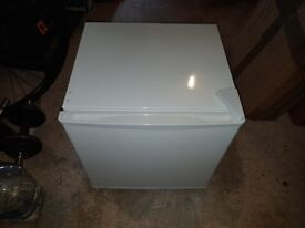 As New Table Top Fridge with Freezer Compartment
