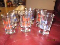 6 Shot Glasses