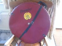 Premier Vintage cymbal case with carry handle and working straps