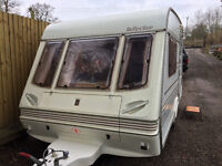 very clean 2 berth caravan only 900 maw no damp no issues light weight